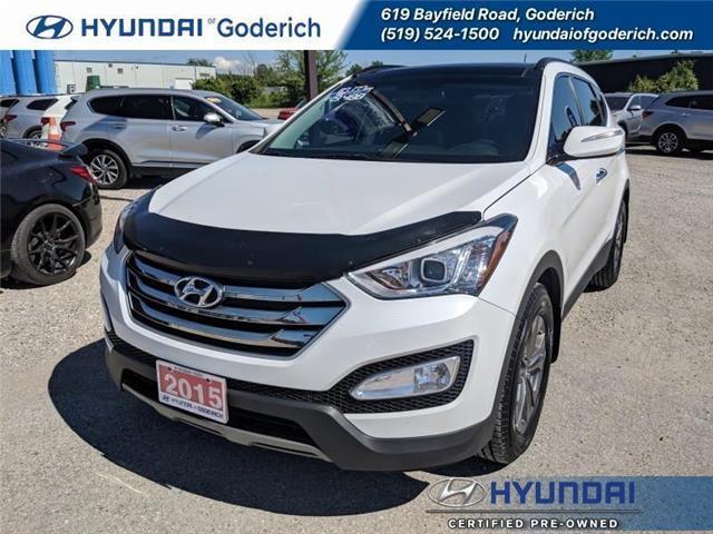 2015 Hyundai Santa Fe Sport Luxury (Stk: 90210A) in Goderich - Image 1 of 18