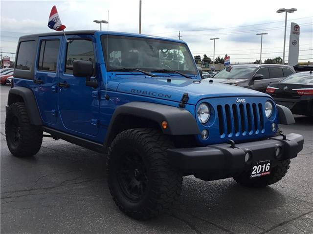2016 Jeep Wrangler Unlimited Rubicon (Stk: 1909481) in Cambridge - Image 6 of 25