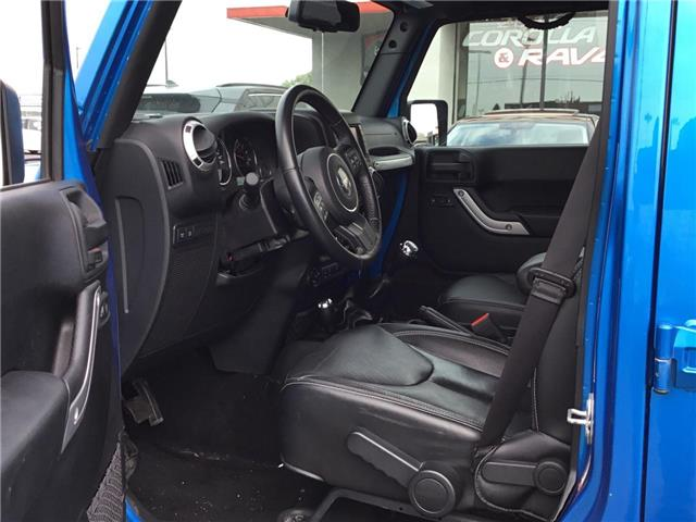 2016 Jeep Wrangler Unlimited Rubicon (Stk: 1909481) in Cambridge - Image 9 of 25