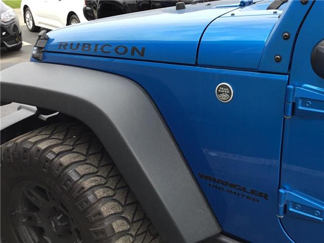 2016 Jeep Wrangler Unlimited Rubicon (Stk: 1909481) in Cambridge - Image 24 of 25
