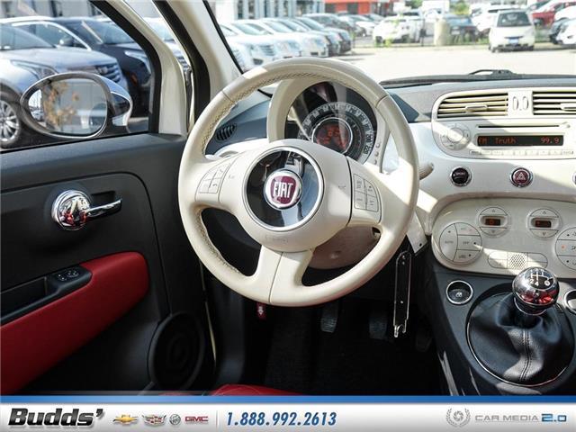 2012 Fiat 500 Lounge (Stk: XT7208LA) in Oakville - Image 9 of 25