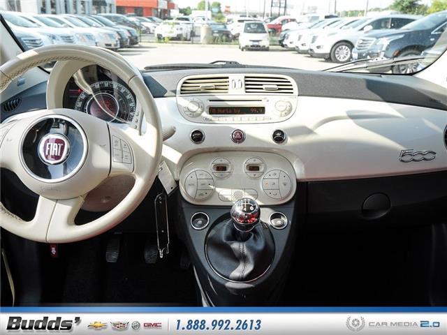 2012 Fiat 500 Lounge (Stk: XT7208LA) in Oakville - Image 10 of 25