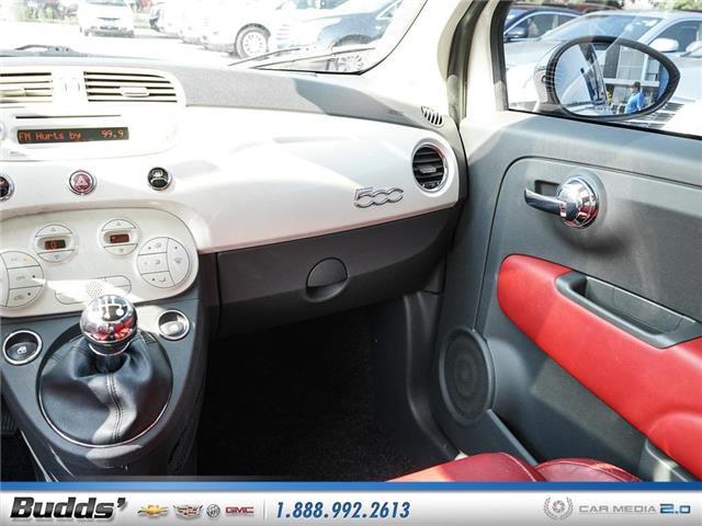 2012 Fiat 500 Lounge (Stk: XT7208LA) in Oakville - Image 11 of 25