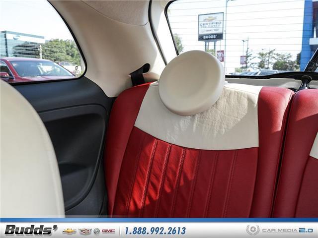 2012 Fiat 500 Lounge (Stk: XT7208LA) in Oakville - Image 12 of 25