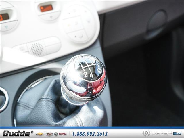 2012 Fiat 500 Lounge (Stk: XT7208LA) in Oakville - Image 17 of 25