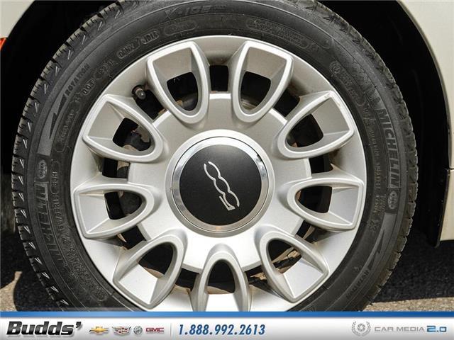 2012 Fiat 500 Lounge (Stk: XT7208LA) in Oakville - Image 18 of 25