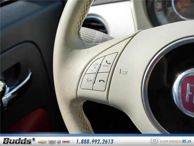2012 Fiat 500 Lounge (Stk: XT7208LA) in Oakville - Image 21 of 25