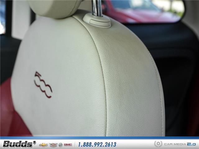 2012 Fiat 500 Lounge (Stk: XT7208LA) in Oakville - Image 23 of 25
