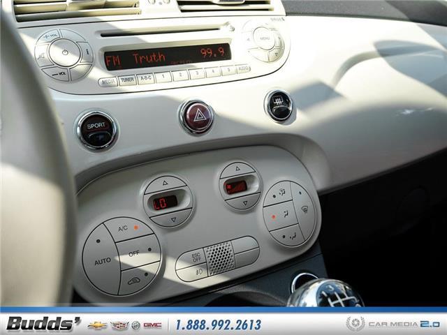 2012 Fiat 500 Lounge (Stk: XT7208LA) in Oakville - Image 25 of 25