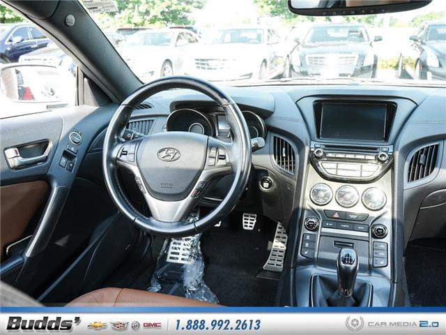 2016 Hyundai Genesis Coupe 3.8 GT (Stk: CV9017AA) in Oakville - Image 9 of 25