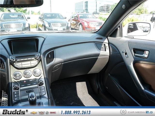 2016 Hyundai Genesis Coupe 3.8 GT (Stk: CV9017AA) in Oakville - Image 11 of 25