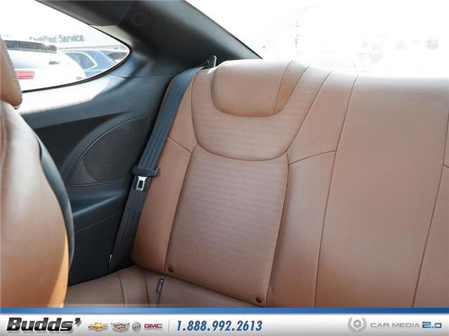 2016 Hyundai Genesis Coupe 3.8 GT (Stk: CV9017AA) in Oakville - Image 12 of 25