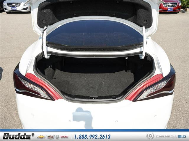 2016 Hyundai Genesis Coupe 3.8 GT (Stk: CV9017AA) in Oakville - Image 19 of 25