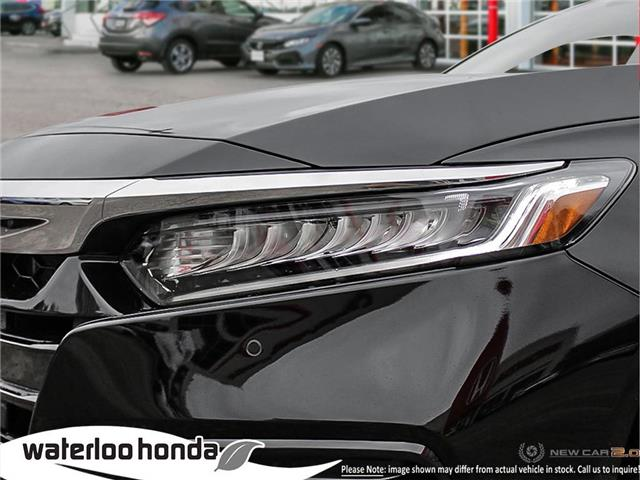 2019 Honda Accord Touring 1.5T (Stk: H6168) in Waterloo - Image 10 of 23