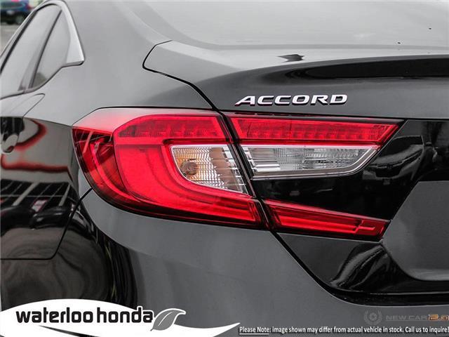 2019 Honda Accord Touring 1.5T (Stk: H6168) in Waterloo - Image 11 of 23