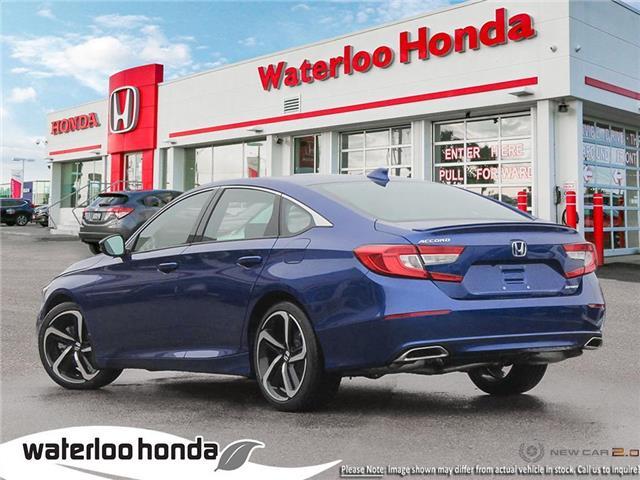 2019 Honda Accord Sport 1.5T (Stk: H6169) in Waterloo - Image 4 of 23