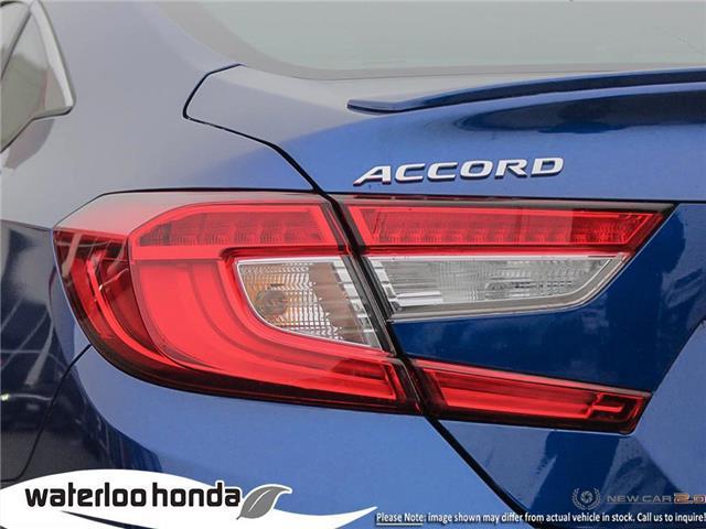 2019 Honda Accord Sport 1.5T (Stk: H6169) in Waterloo - Image 11 of 23