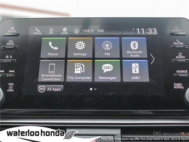 2019 Honda Accord Sport 1.5T (Stk: H6169) in Waterloo - Image 18 of 23
