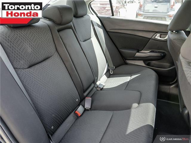 2015 Honda Civic EX (Stk: 39330) in Toronto - Image 24 of 30