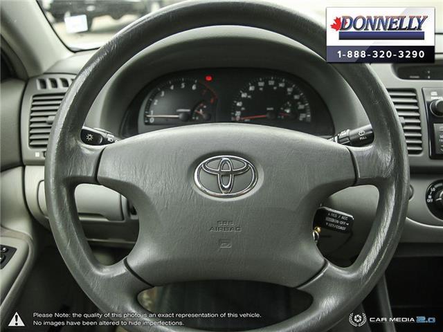 2002 Toyota Camry  (Stk: PBWDS1680A) in Ottawa - Image 14 of 28