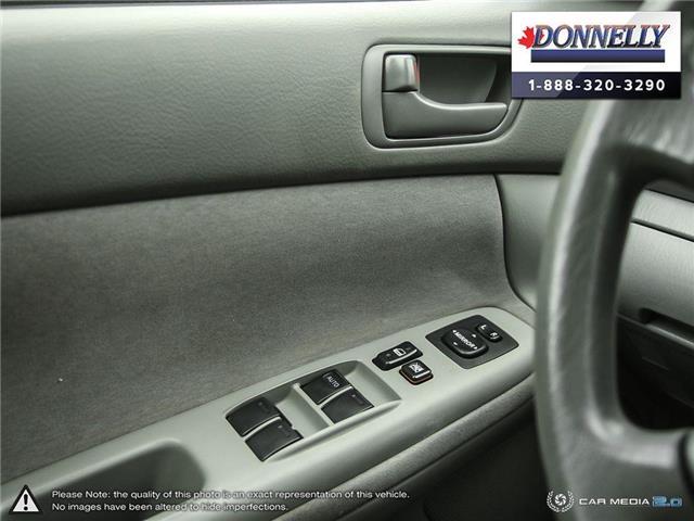 2002 Toyota Camry  (Stk: PBWDS1680A) in Ottawa - Image 17 of 28