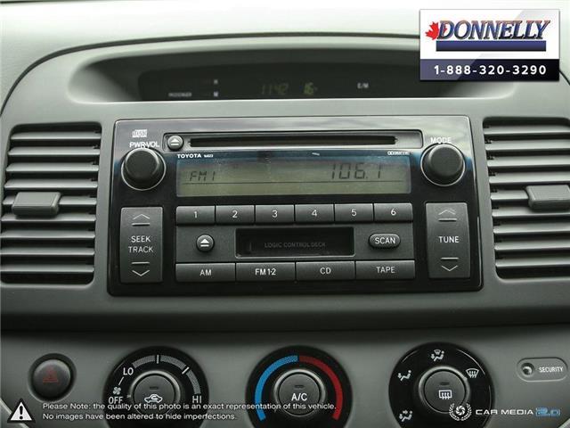 2002 Toyota Camry  (Stk: PBWDS1680A) in Ottawa - Image 21 of 28