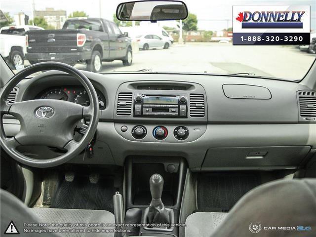2002 Toyota Camry  (Stk: PBWDS1680A) in Ottawa - Image 25 of 28
