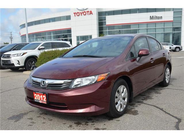 2012 Honda Civic LX (Stk: 012243) in Milton - Image 1 of 16