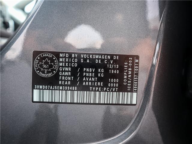 2014 Volkswagen Jetta 1.8 TSI Comfortline (Stk: F129A) in Ancaster - Image 26 of 27