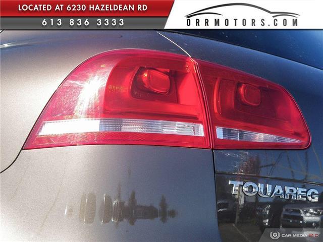 2011 Volkswagen Touareg 3.0 TDI Comfortline (Stk: 5891) in Stittsville - Image 11 of 29