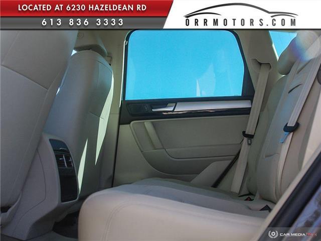 2011 Volkswagen Touareg 3.0 TDI Comfortline (Stk: 5891) in Stittsville - Image 23 of 29