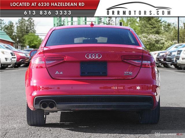 2015 Audi A4 2.0T Progressiv (Stk: 5895) in Stittsville - Image 5 of 29