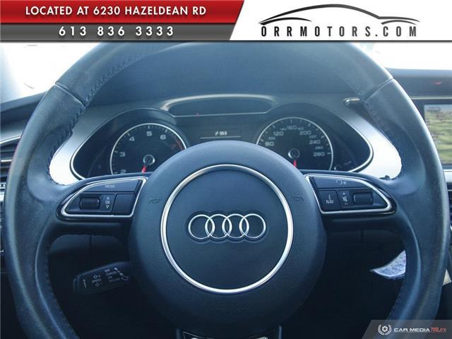 2015 Audi A4 2.0T Progressiv (Stk: 5895) in Stittsville - Image 14 of 29