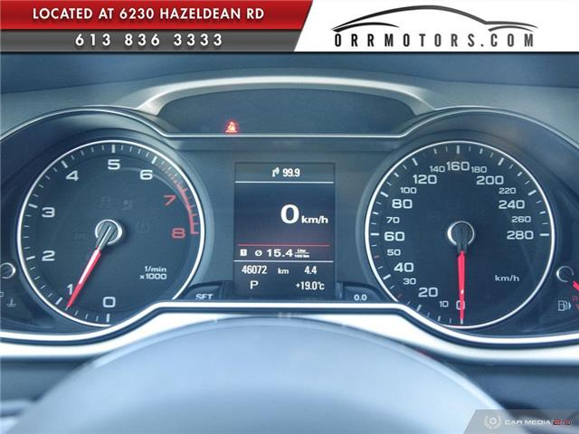 2015 Audi A4 2.0T Progressiv (Stk: 5895) in Stittsville - Image 15 of 29