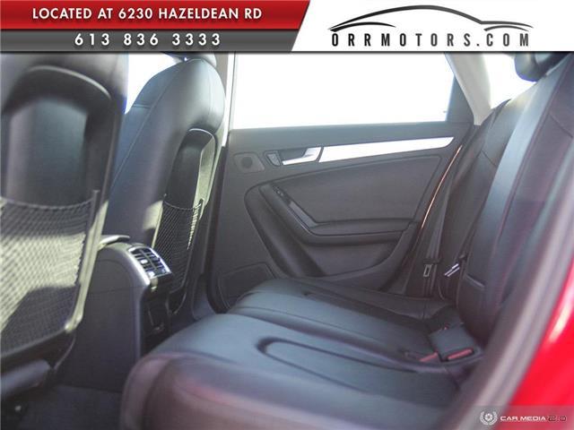 2015 Audi A4 2.0T Progressiv (Stk: 5895) in Stittsville - Image 22 of 29