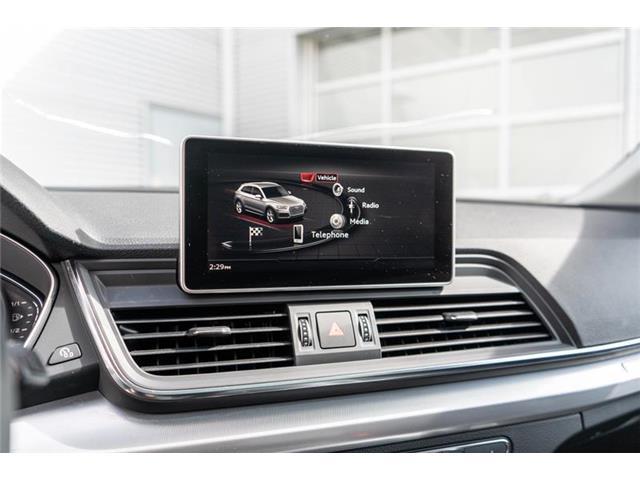 2018 Audi Q5 2.0T Progressiv (Stk: N5319A) in Calgary - Image 13 of 18
