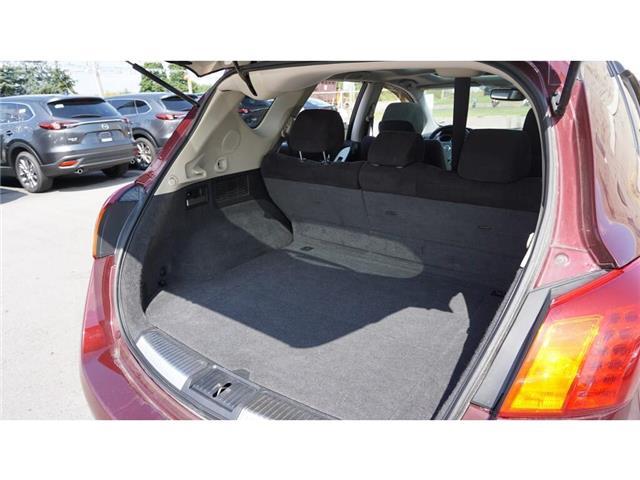 2009 Nissan Murano  (Stk: HU885) in Hamilton - Image 26 of 36