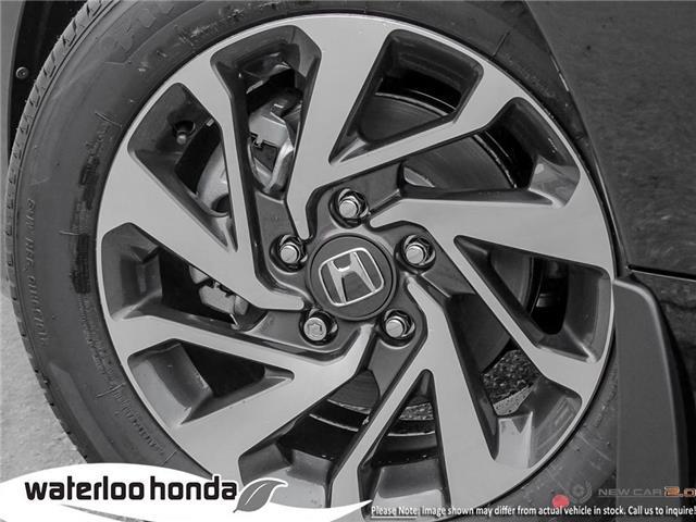2019 Honda Civic EX (Stk: H6176) in Waterloo - Image 8 of 23
