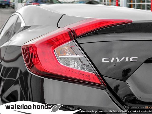 2019 Honda Civic EX (Stk: H6176) in Waterloo - Image 11 of 23