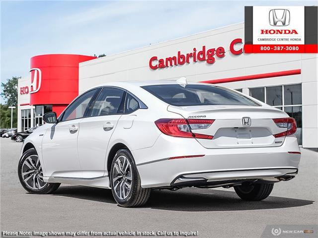 2019 Honda Accord Hybrid Base (Stk: 20184) in Cambridge - Image 4 of 24