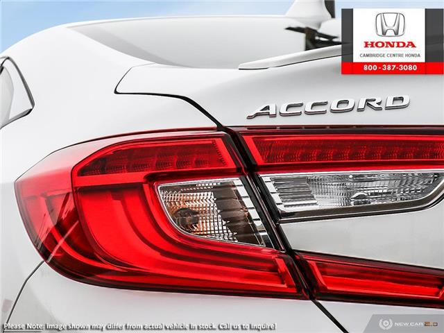 2019 Honda Accord Sport 1.5T (Stk: 20277) in Cambridge - Image 11 of 24