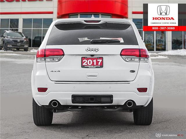 2017 Jeep Grand Cherokee Overland (Stk: 20191A) in Cambridge - Image 5 of 27