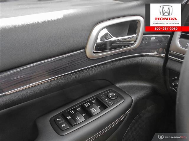 2017 Jeep Grand Cherokee Overland (Stk: 20191A) in Cambridge - Image 17 of 27