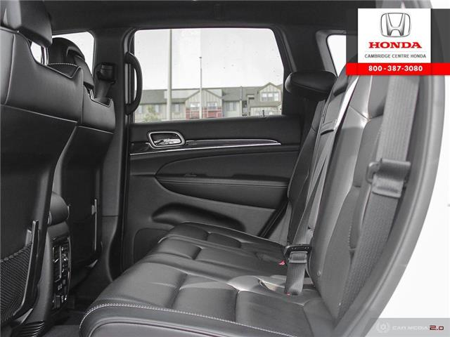 2017 Jeep Grand Cherokee Overland (Stk: 20191A) in Cambridge - Image 24 of 27