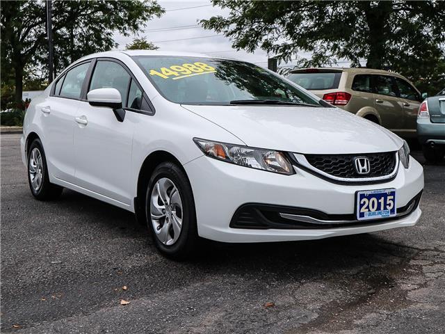2015 Honda Civic LX (Stk: 191184A) in Burlington - Image 3 of 25