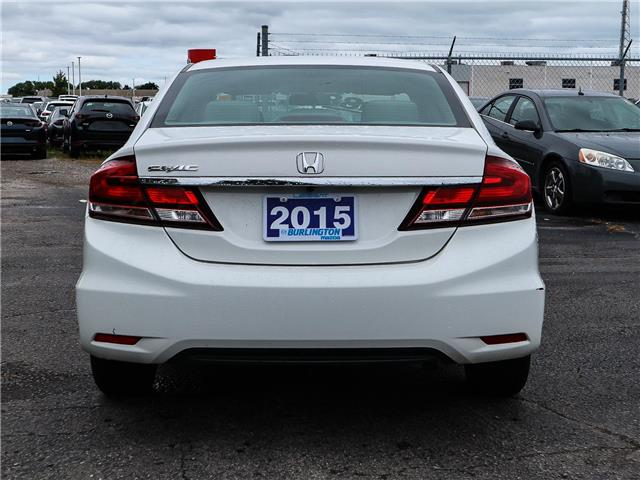 2015 Honda Civic LX (Stk: 191184A) in Burlington - Image 6 of 25