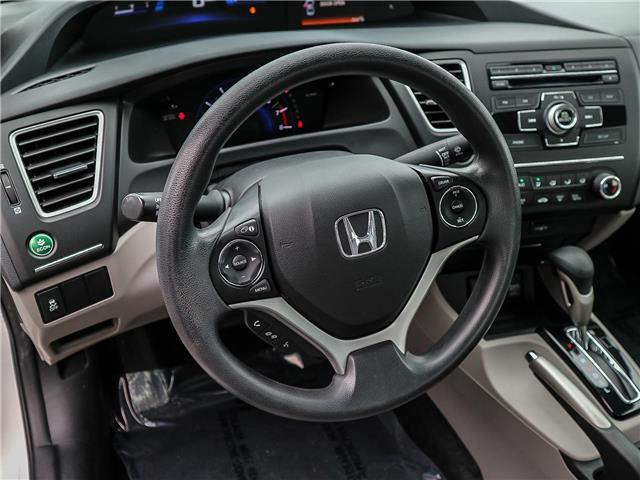 2015 Honda Civic LX (Stk: 191184A) in Burlington - Image 13 of 25