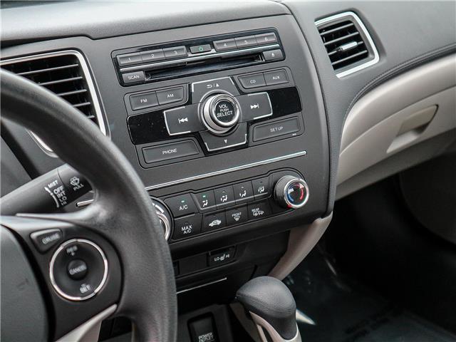 2015 Honda Civic LX (Stk: 191184A) in Burlington - Image 14 of 25