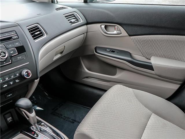 2015 Honda Civic LX (Stk: 191184A) in Burlington - Image 16 of 25
