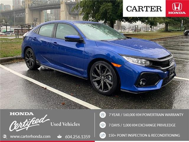 2018 Honda Civic Sport (Stk: 4K01081) in Vancouver - Image 1 of 23